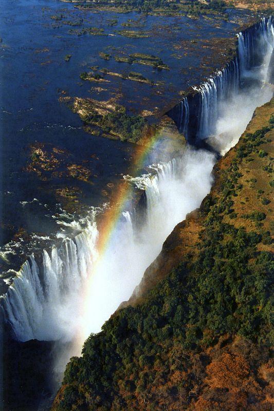 Victoria Falls Travel Around The World Waterfall
