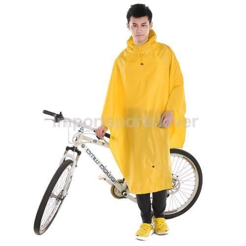 Outdoor Fishing Bike Cycling Rain Cape Jacket Hoodie Raincoat Jacket Poncho  in Sporting Goods, Cycling, Cycling Clothing 21a4793467
