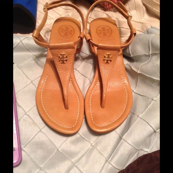 50d051afbd Tory Burch Wedge Sandals These are like brand new Tory burch sandals. I  wore one day on Easter! PRICE FIRM WILL DECLINE ALL OFFERS Tory Burch Shoes  Sandals