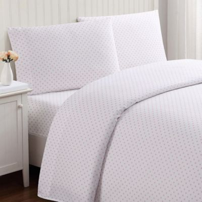 Truly Soft Everyday Dot Twin Xl Sheet Set In Pink In 2018 Products