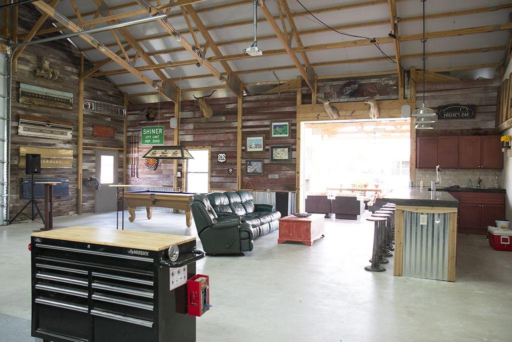 Morton Makes The Ordinary Extraordinary Garage Interior Metal