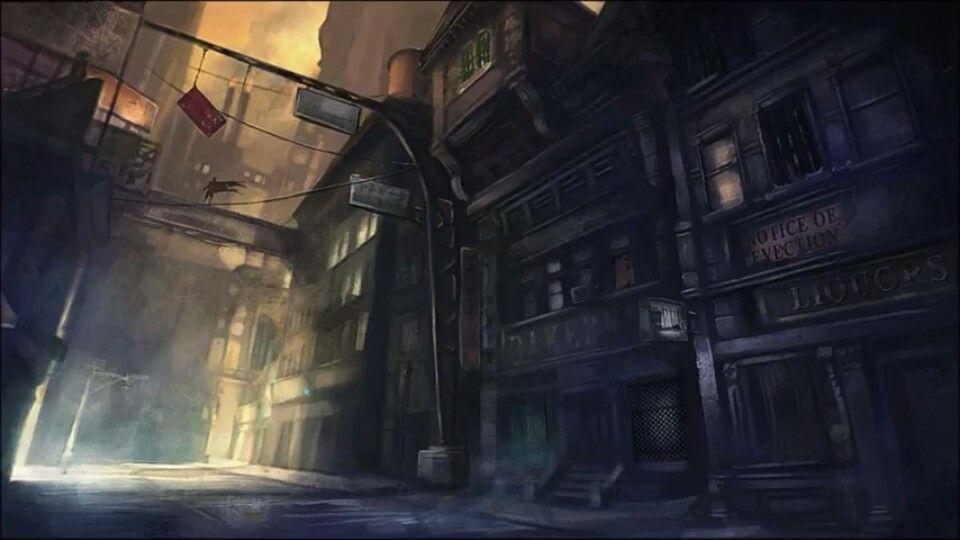 38 The Streets Of Arkham City Arkham City Gotham City City