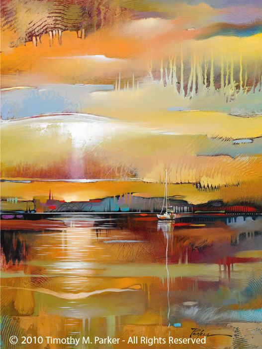 Modern Landscape Painting Artist Tim Parker Abstract Art Landscape Contemporary Landscape Painting Landscape Artwork