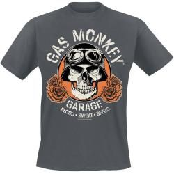 Gas Monkey Garage Skull T-Shirt #gasmonkeygarage