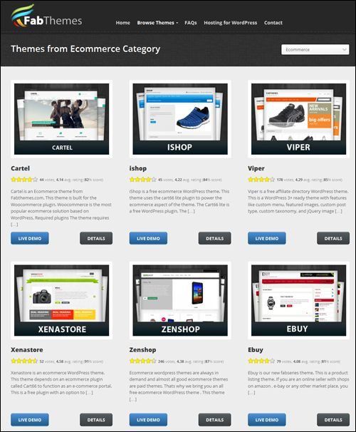 Where To Find The Best ECommerce Themes For WordPress