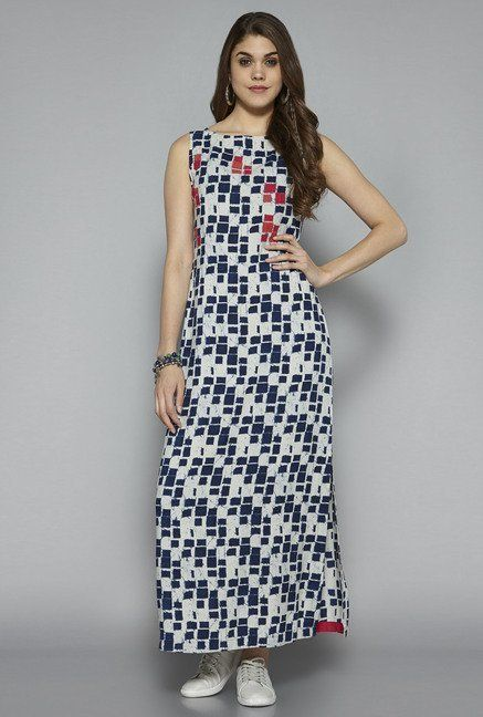 f0694467ce Bombay Paisley by Westside Navy Printed Maxi Dress | uts | Dresses ...