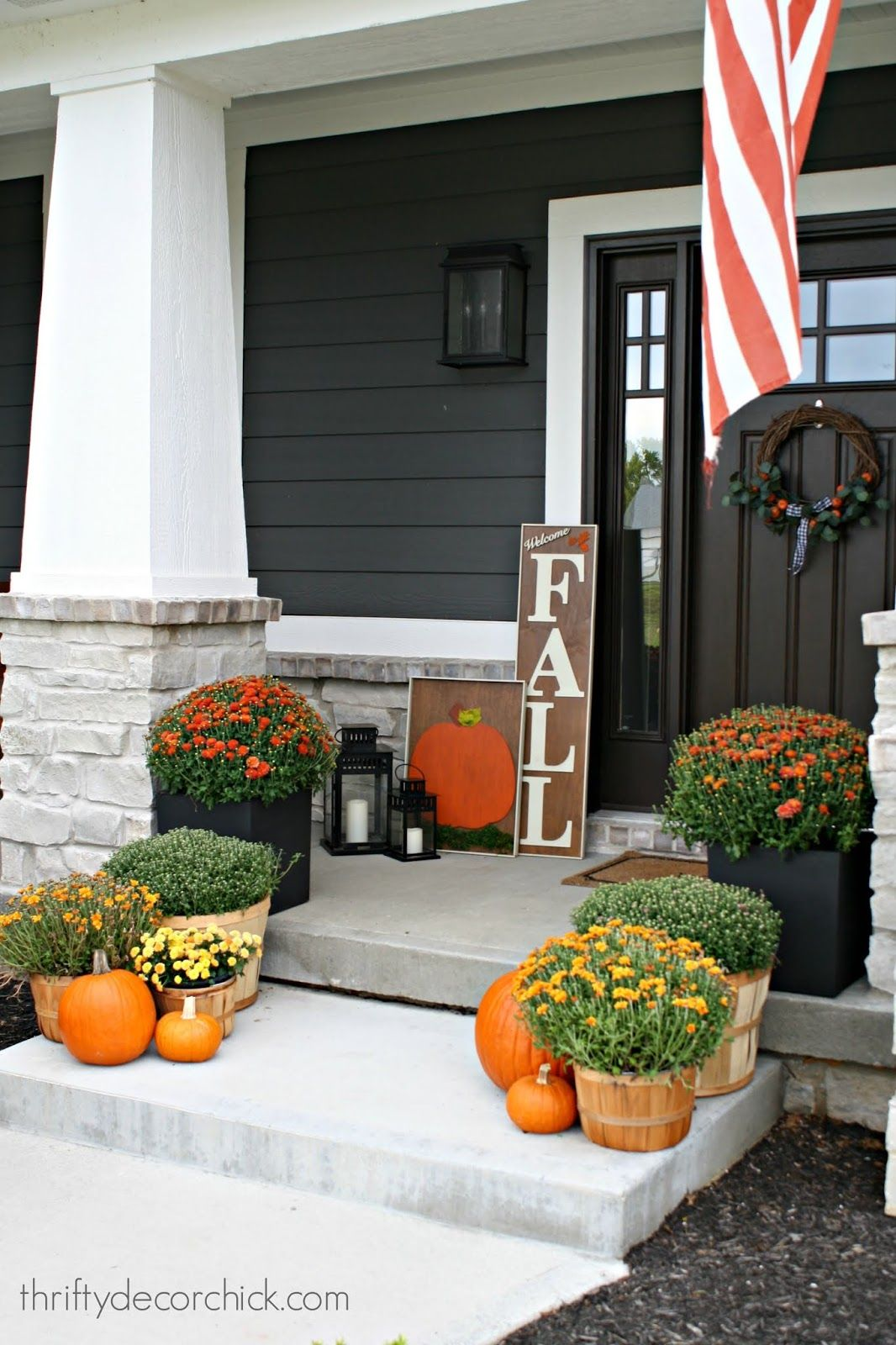 Craftsman Front Porch Decorating Ideas In 2020 Porch Remodel