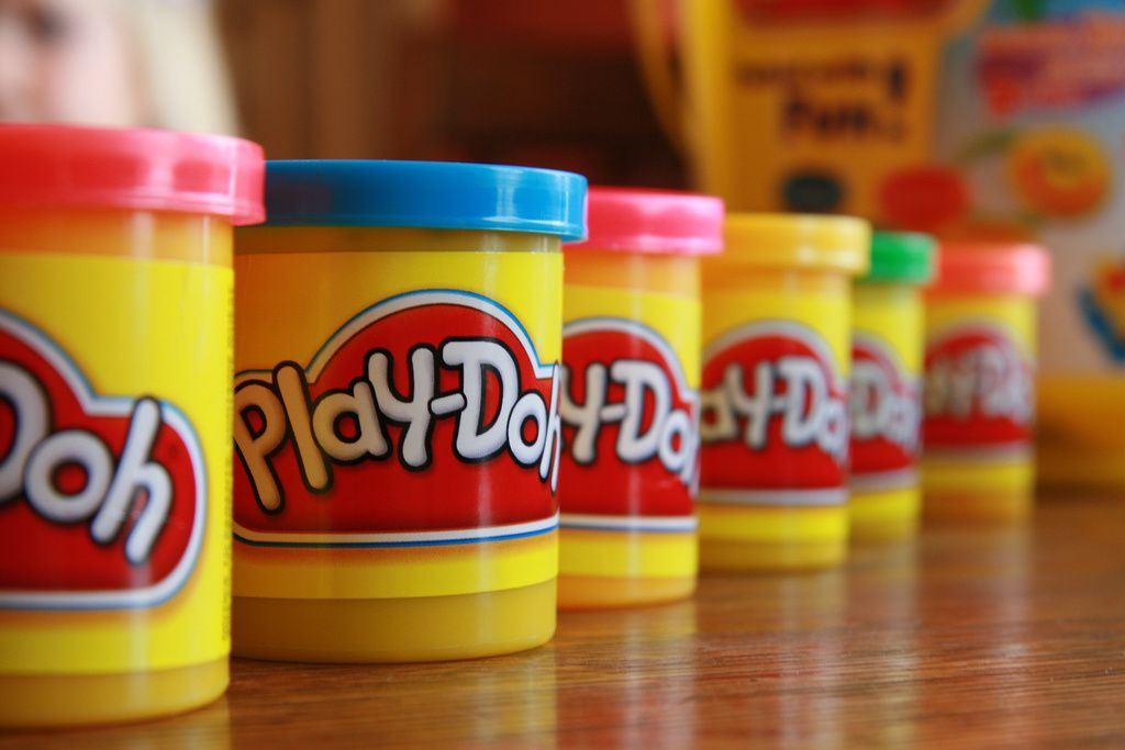 Play Doh Was Originally Invented As Wall Paper Cleaner It Would Be 22 Years Before Finally Hit The Shelves A Non Toxic Child S Toy Pinterest