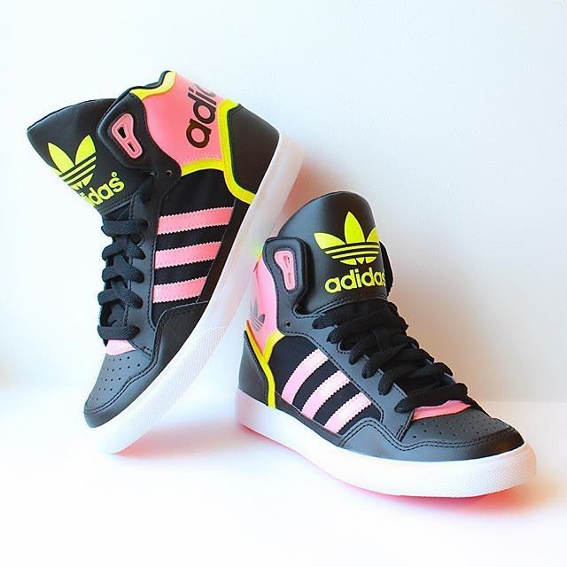 sneakers, Adidas high tops