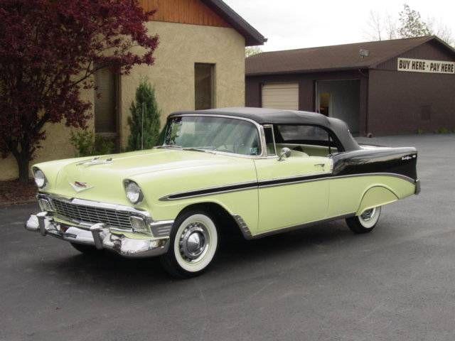 1956 Chevy Belair Convertible Chevrolet Bel Air New