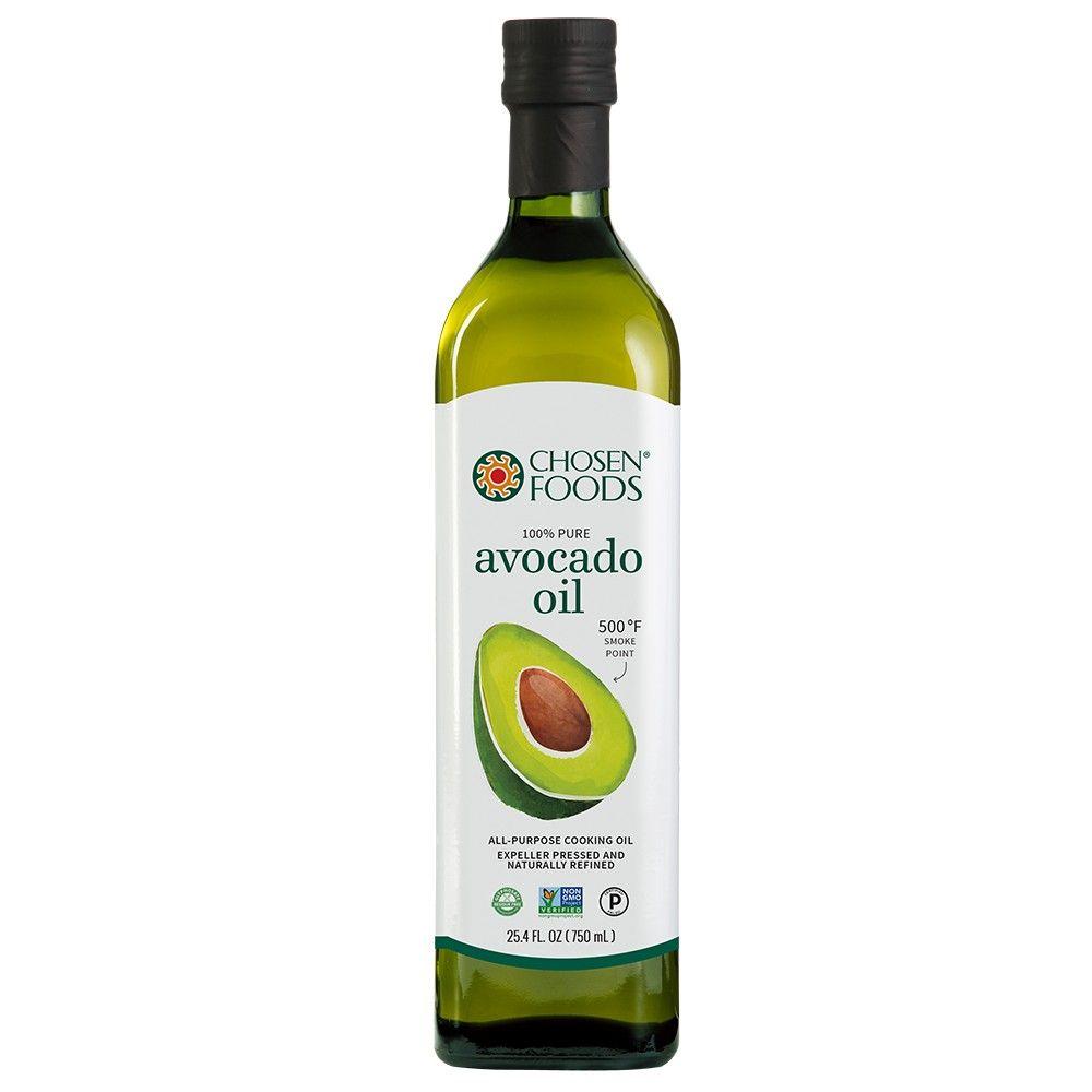 Chosen Foods 100 Pure Avocado Oil 25 3oz Pure Doces