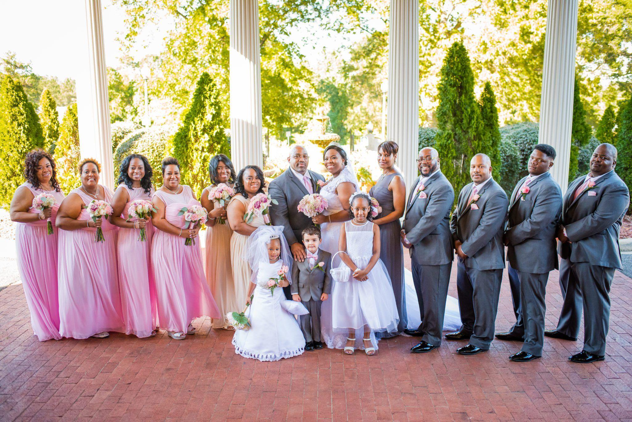 Tuscaloosa Al Nuptials Southern Belle Wedding Sweet Home Alabama African American Weddings