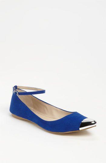 Electric blue flat shoes. MIA 'Ashley' Flat | Nordstrom