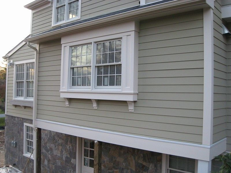 View Of Bump Out Window From Exterior Bay Window Exterior Windows Exterior House Exterior