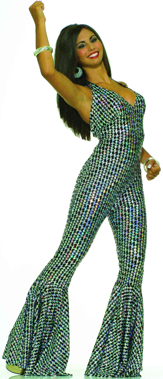 70/'s Boogie Fever Disco Groovy Adult Women Costume