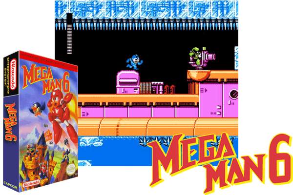 Mega Man 6 Usa Just Another Nintendo Nes Classic Game Follow Us On Pinterest To Discover More Videogame Classics From The Golden Age Nes Nintendo Co