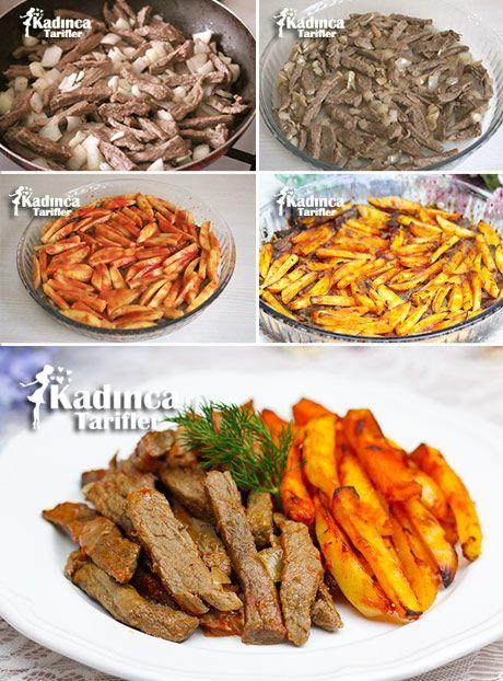 Fırında Patatesli Et Tarifi, Nasıl Yapılır