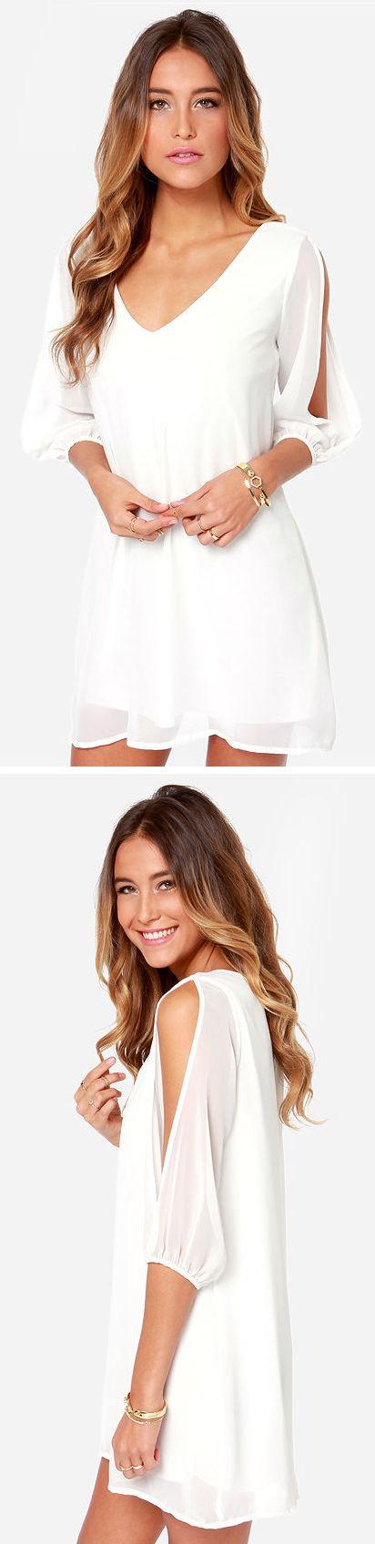LULUS Exclusive Shifting Dears Ivory Long Sleeve Dress - maroon dresses casual, elegant dresses, glamorous dresses *sponsored https://www.pinterest.com/dresses_dress/ https://www.pinterest.com/explore/dress/ https://www.pinterest.com/dresses_dress/girls-dresses/ http://www.davidsbridal.com/sale/sale-wedding-dresses
