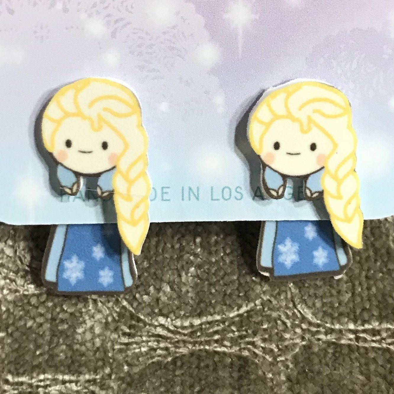 Elsa Disney Princess Inspired Earrings
