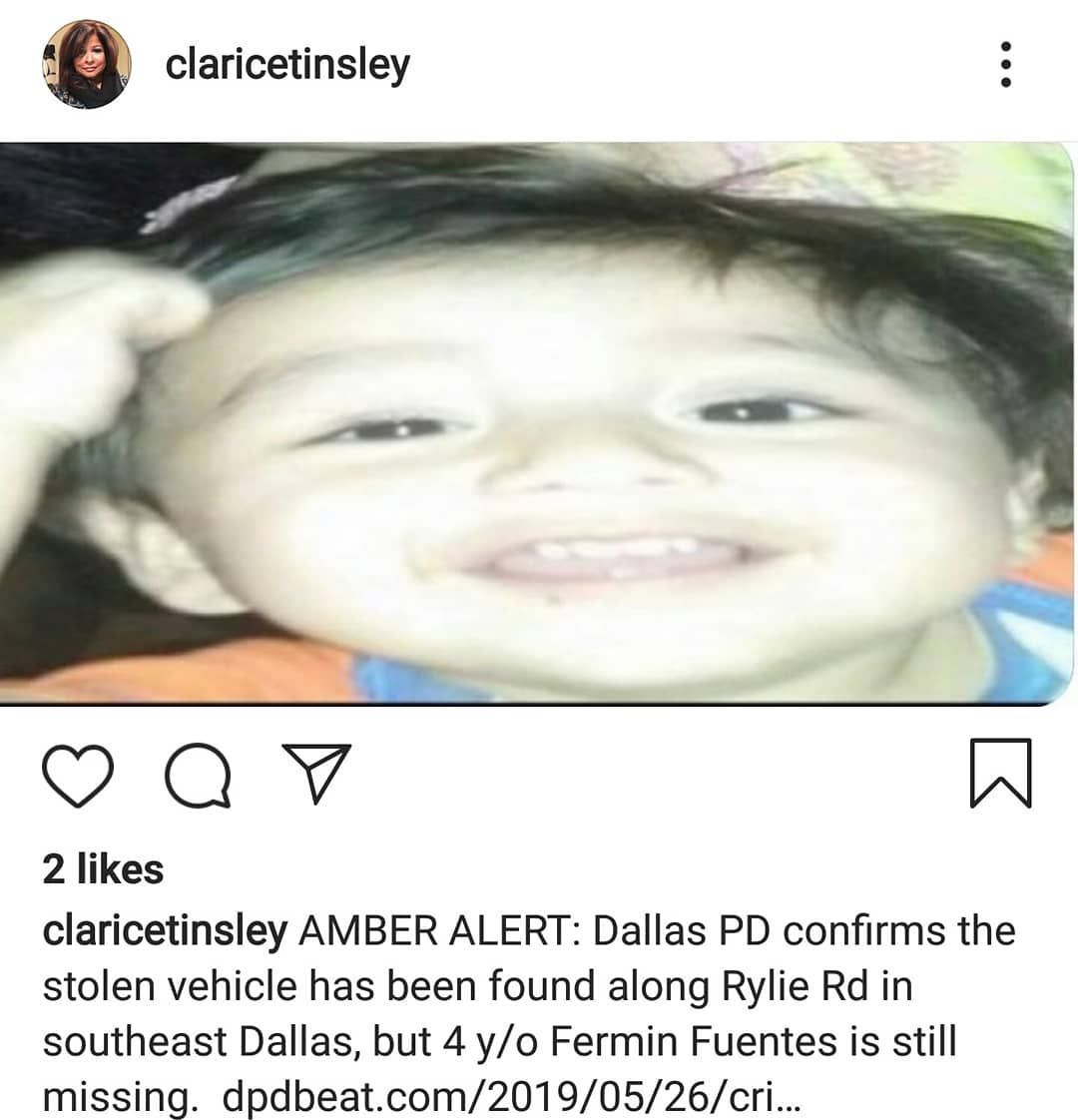 Update Cancelled Amber Alert Dallas Texas Hashtags Are Used To Create More Views And Do Not Related To Th Dallas Police Amber Alert Thunderstorms