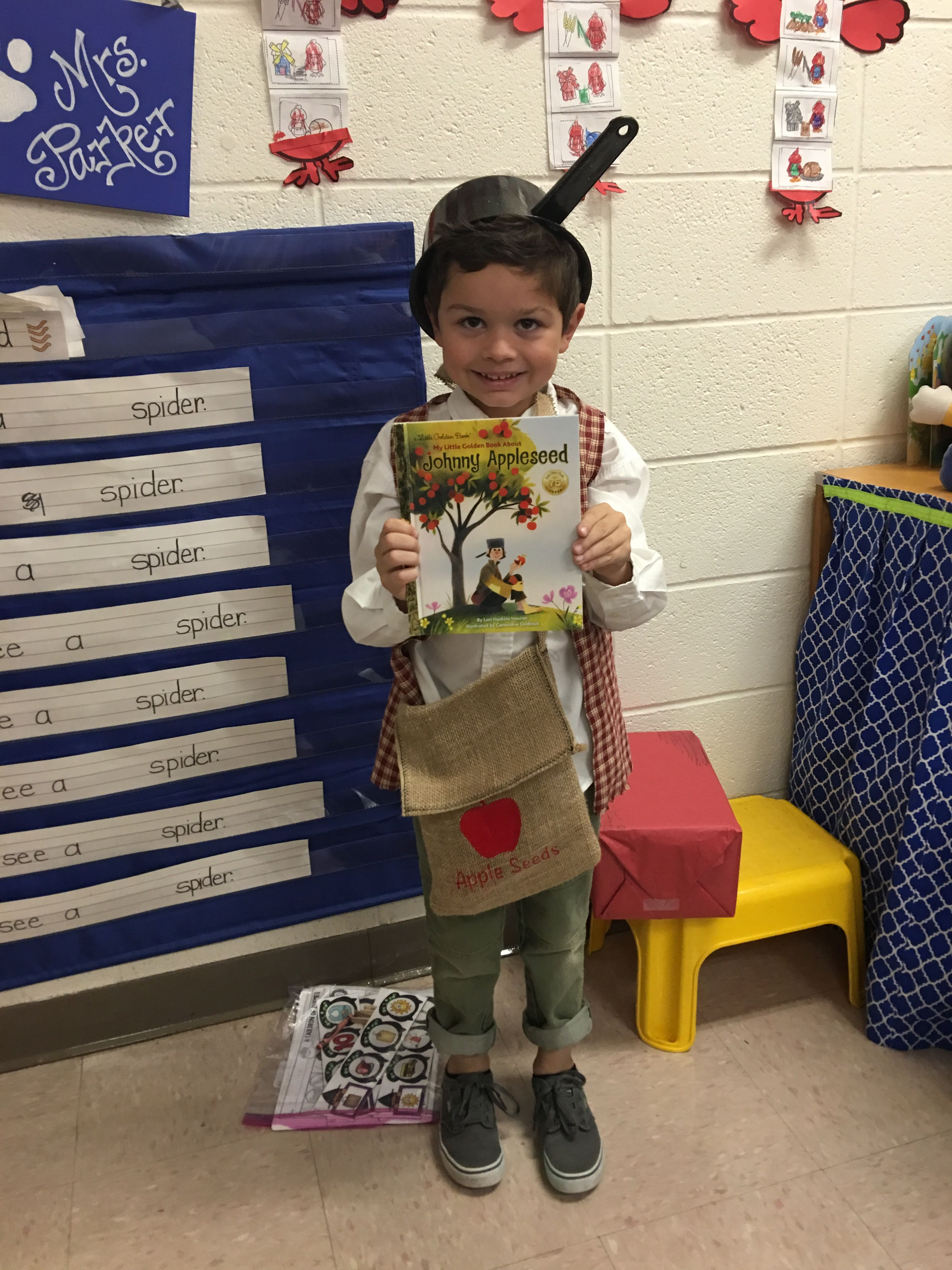 Johnny Appleseed Book Character Costume Halloween