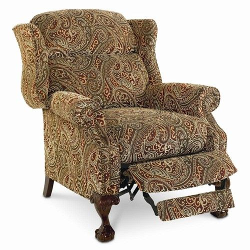 Lane Hi Leg Recliners Traditional Davidson High Leg Recliner   John V  Schultz Furniture   High
