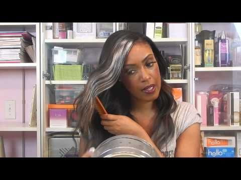 Granny Hair How-To Tutorial Using Temporary Color | Beauty - make ...