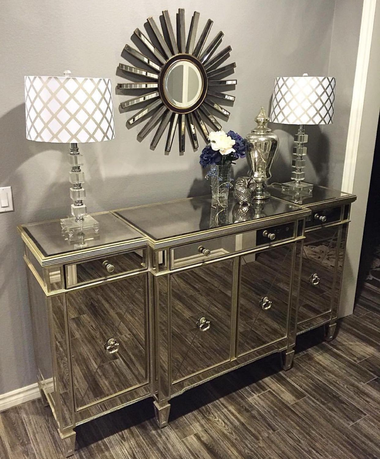 Pin By Lidz On Entryway Mirror Buffet Home Decor