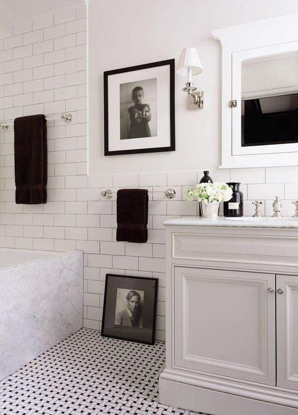 White Bathroom Design Inspirations 40 1 Kindesign