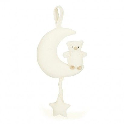 SNOWY OWL MUSICAL PULL POPPETS