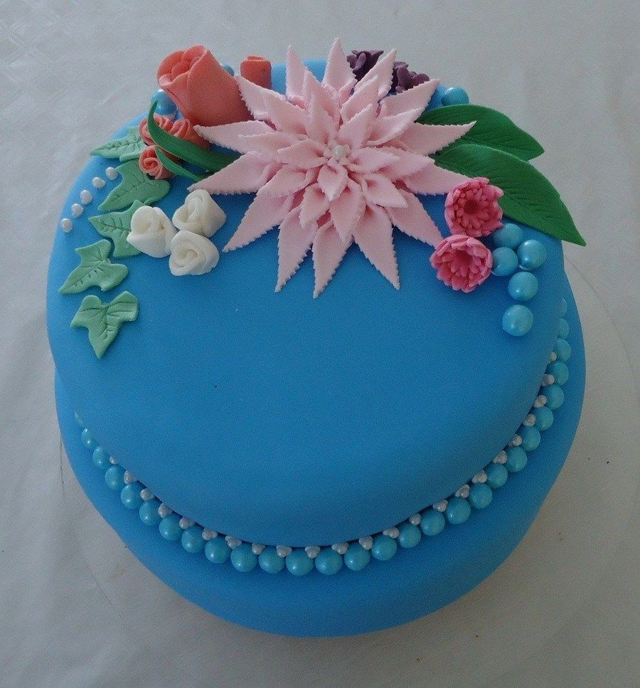 Birthday Cakes For 14 Years Old Girl Bold Colours Chosen A