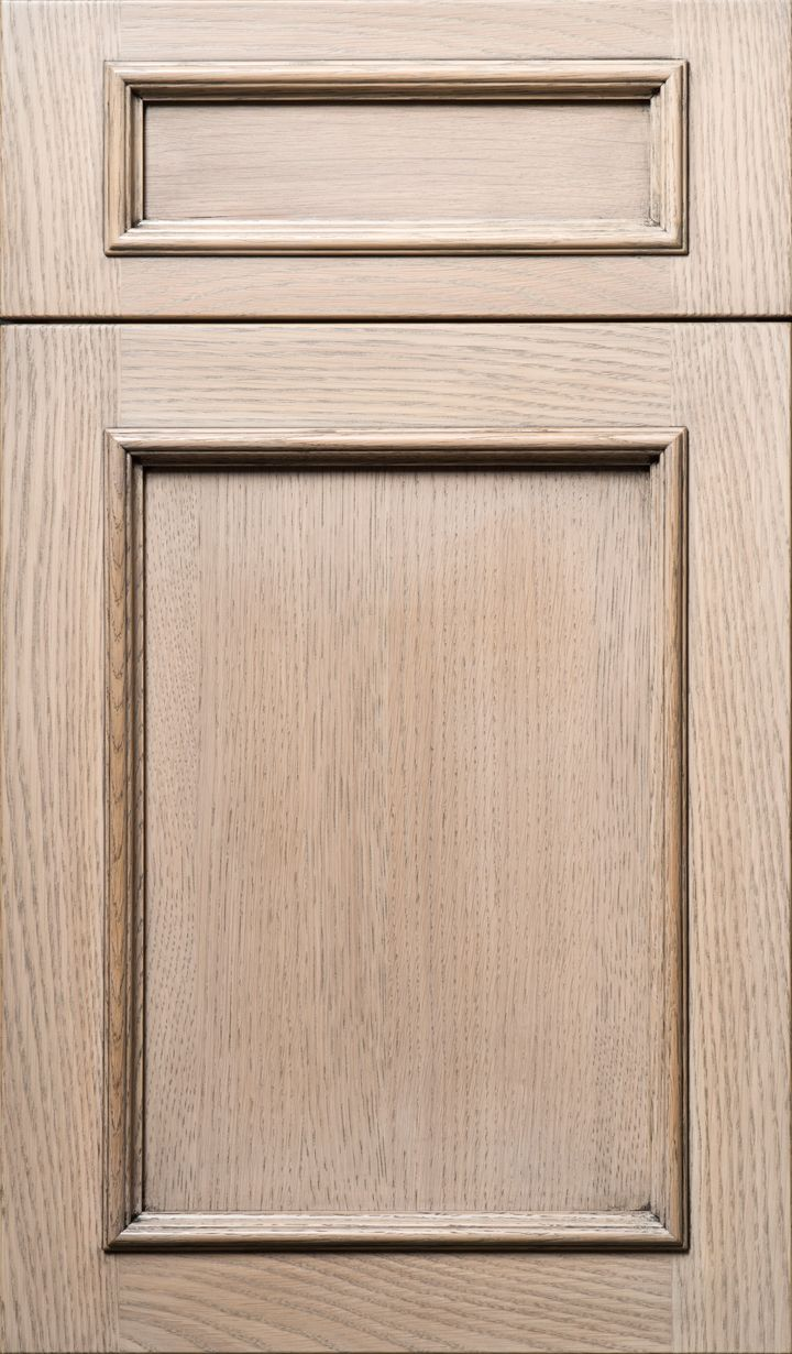 Plain Fancy Kent Door In White Oak With Silver Shore Finish