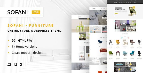 sofani furniture store html template