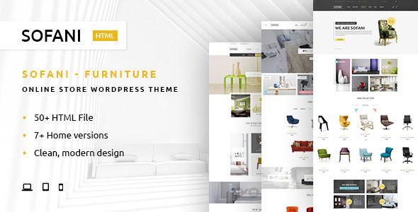 sofani furniture store html template