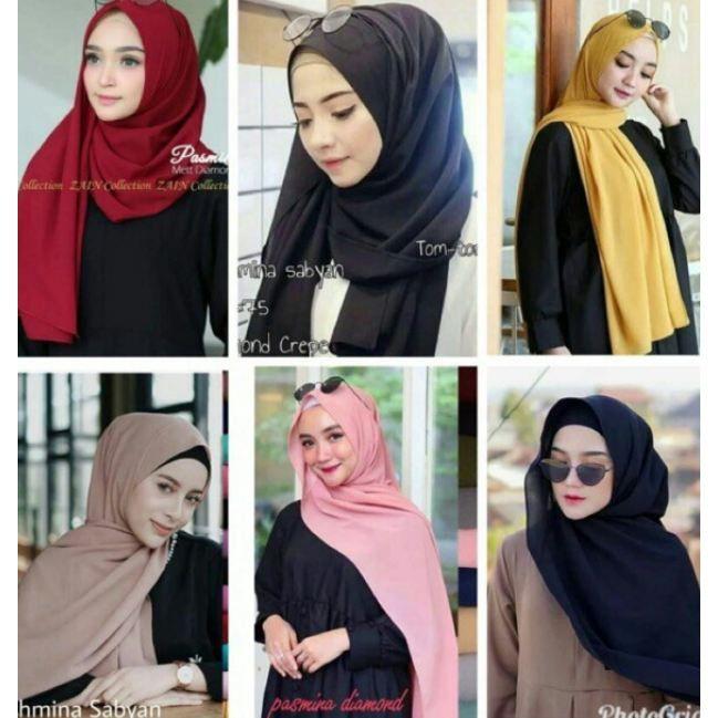 Gambar Tutorial Hijab Pashmina Ceruti Tutorial Hijab Pashmina Kursus Hijab Hijab