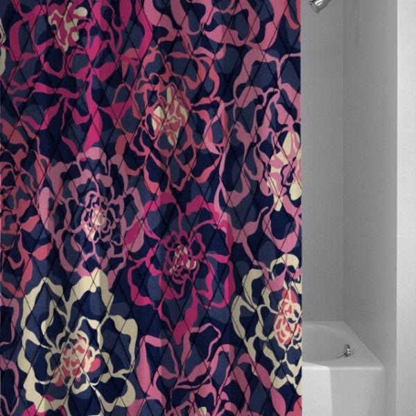 New Vera Bradley Katalina Pink Best Design Shower Curtain