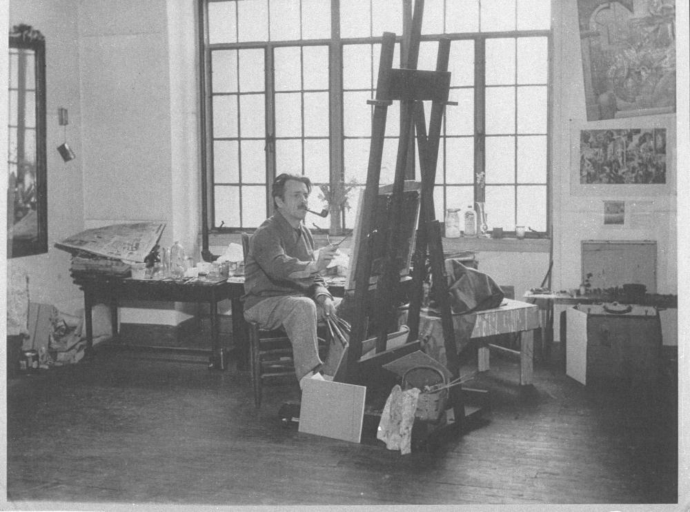 Thomas Hart Benton Home & Studio State Historic Site | Historic Artists' Homes & Studios