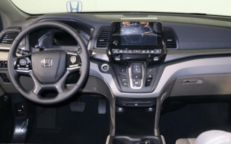 2020 Honda Odyssey Interior Honda Odyssey Honda New Honda Odyssey