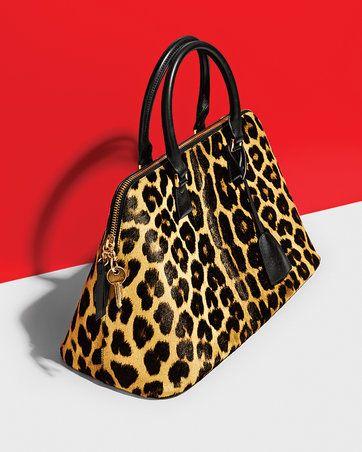 a00eae08e Maison Margiela (=) Leopard Print Bag, New Pins, Eight, Beautiful Bags