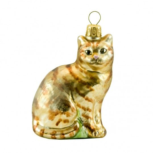 A Red Cat Polish glass Christmas ornaments Pinterest Red cat - polish christmas decorations