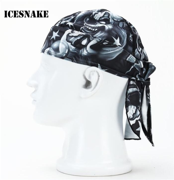 Visit to Buy  ICESNAKE Man Women Breathable Multi Function Bicycle Hat  Headscarf Cycling Cap 6117beff6