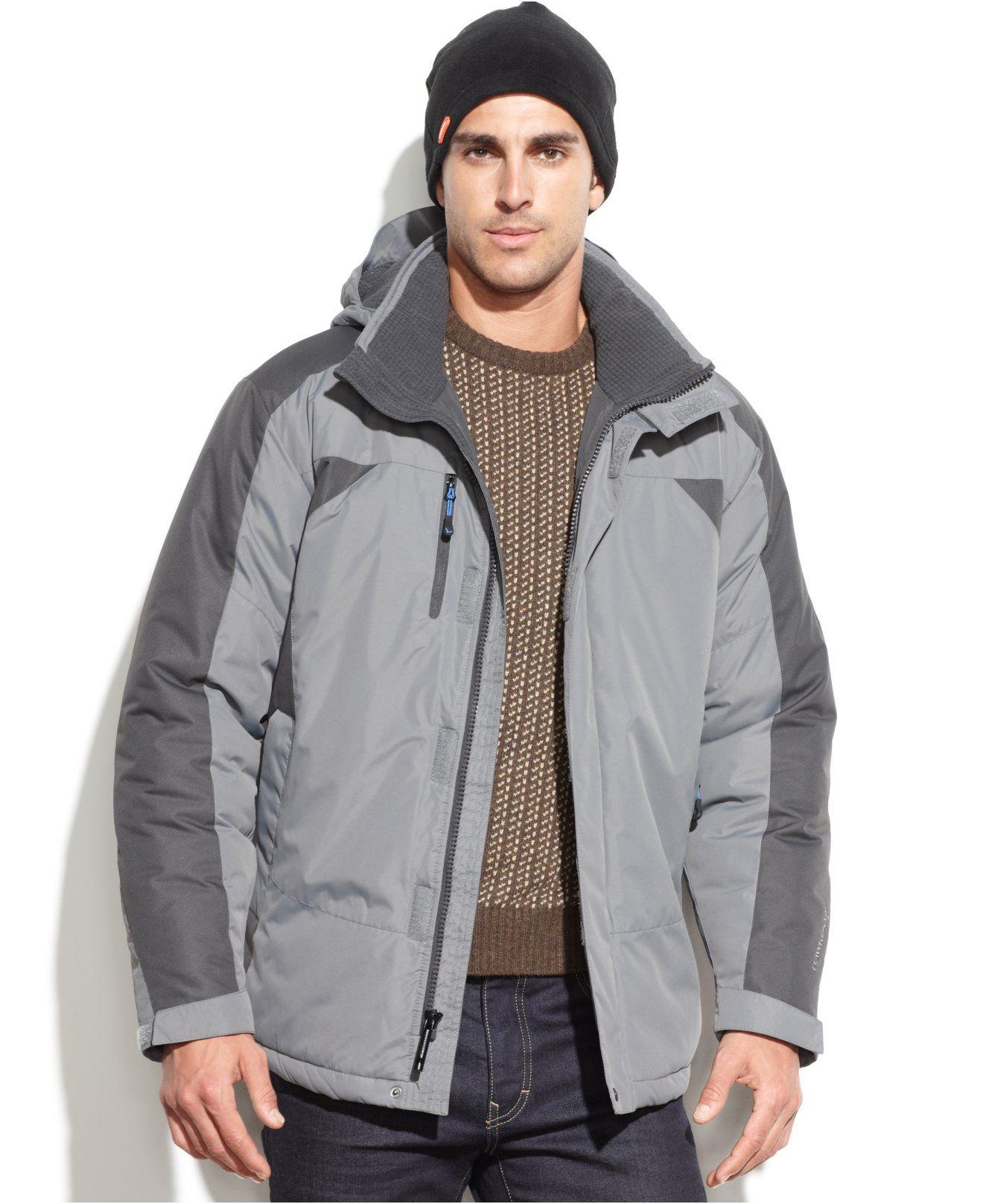 Hawke Co Outfitter Heavyweight Hooded Performance Parka With Hat Coats Jackets Men Macy S Leather Jacket Men Long Coat Men Mens Winter Coat [ 1616 x 1320 Pixel ]