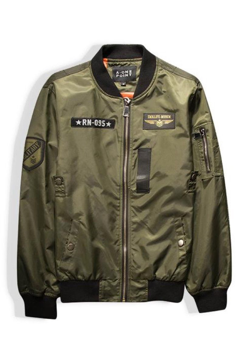 9577dae02acdc Callie Pilot Army Bomber Jacket | Clothes in 2019 | Jackets, Fashion ...