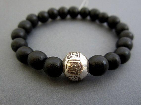 Om Mani Padme Hum Mantra Bead Bracelet