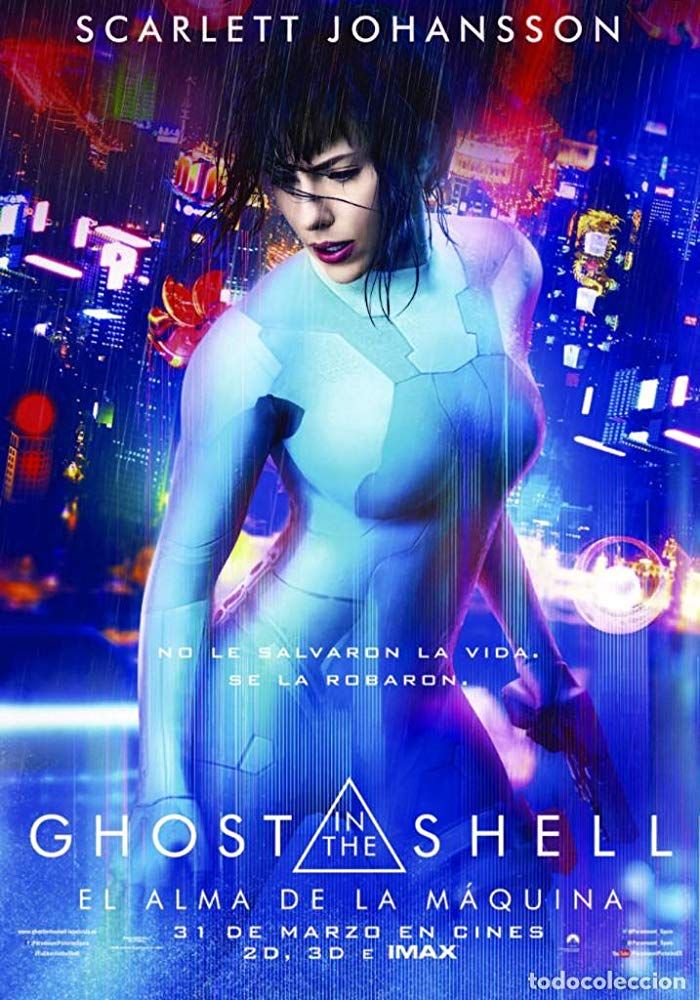 Ghost in the Shell (2017) Ghost in the shell, Full