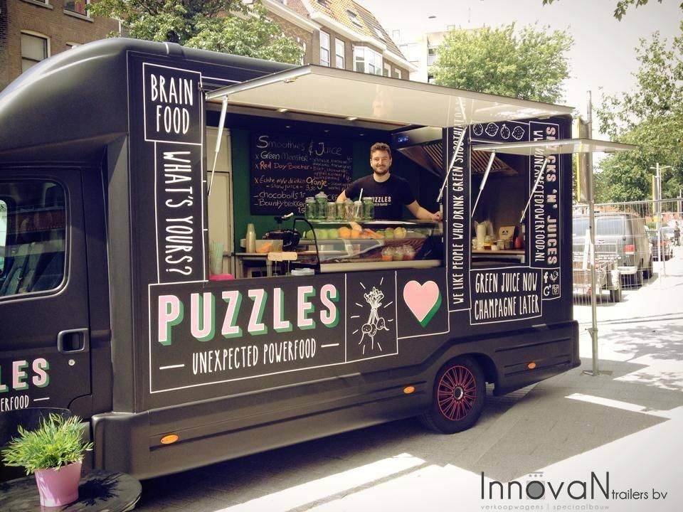Love the branding on this food van food truck for Design your food truck
