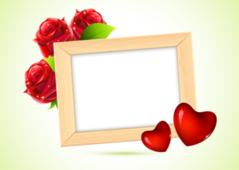 frame,photo,love,flower,wood,heart,graphic,picture,romantic