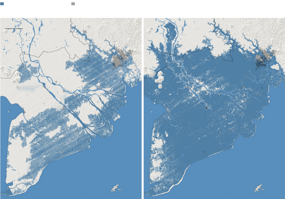 Rising Seas Will Erase More Cities By 2050 New Research Shows