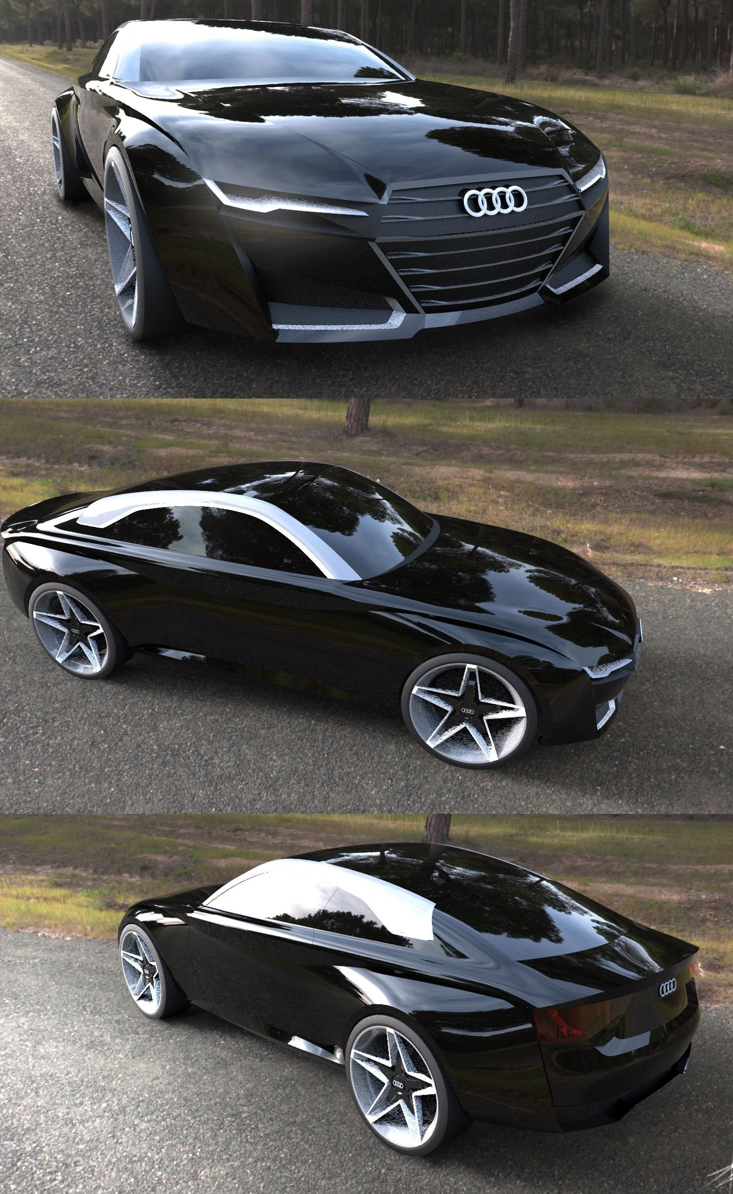 2016 Audi A5 Concept By Tony Chen By Tonywck On Deviantart Super Cars Audi Cars Concept Cars