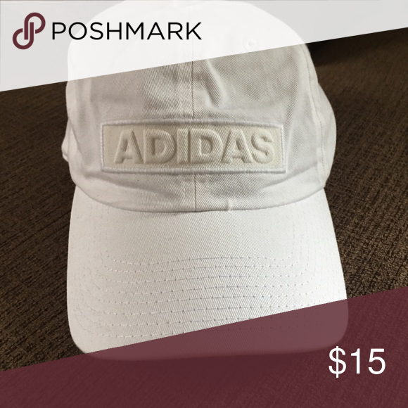 a67a7b9d38da6 Adidas hat White adidas hat no stains like new only worn once adidas  Accessories Hats